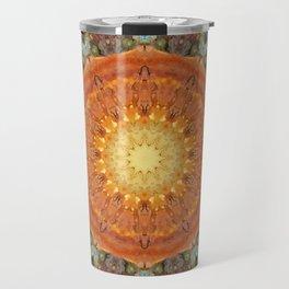 Colors of Rust 894_R / mandala-style-rust Travel Mug