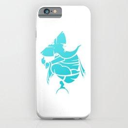Turquoise Ganesha iPhone Case