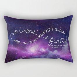 we were infinite (complete) Rectangular Pillow