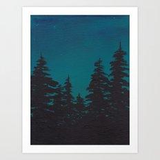 Night is Falling Art Print