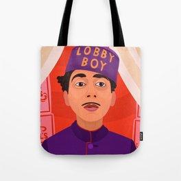 Lobby Boy Tote Bag