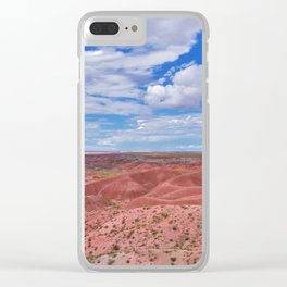 Nature Painted Desert Clear iPhone Case