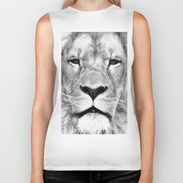 Lion, Animal, Scandinavian, Minimal, Trendy decor, Interior, Wall art Art Biker Tank
