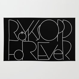 Röyksopp Forever Unique Title Rug