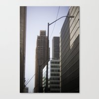 detroit Canvas Prints featuring Detroit by Jake Boeve