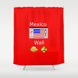 Mexico Wall Shower Curtain