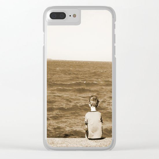 All By Myself Clear iPhone Case