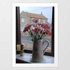 Romantic Window Art Print
