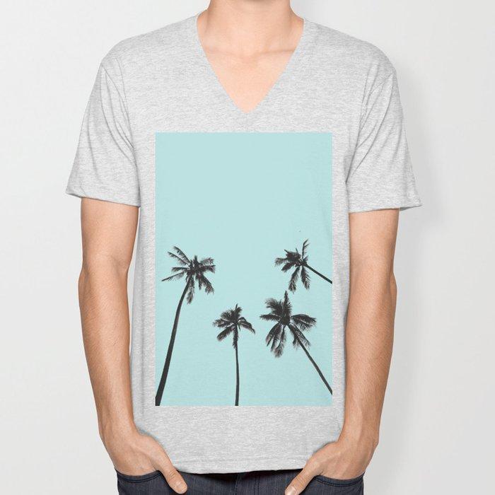 Palm trees 5 Unisex V-Neck