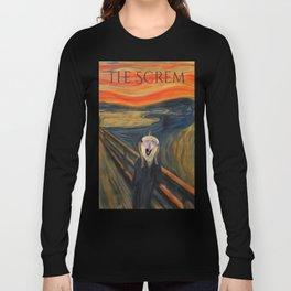 The Screm - cockatiel Munch Long Sleeve T-shirt