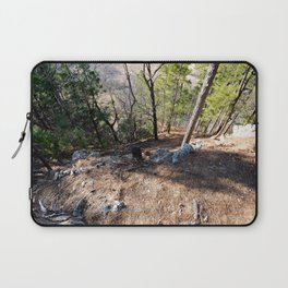 Climbing Up Sparrowhawk Mountain above the Illinois River,No. 5 of 8 Laptop Sleeve