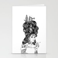 rockabilly Stationery Cards featuring rockabilly by vasodelirium
