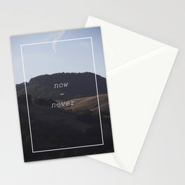 Now-Never Stationery Cards