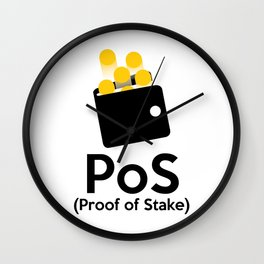 PoS - Proof of Stake Wall Clock