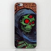 occult iPhone & iPod Skins featuring Occult Macabre by Chris Moet