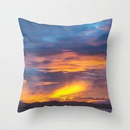 Coromandel Sunset II Throw Pillow