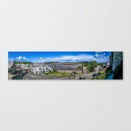 A Long Way in Conwy Canvas Print