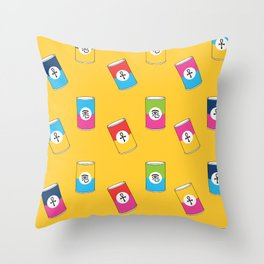 God's Condensed soup! Throw Pillow