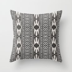 Tribal Textile Throw Pillow