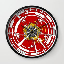 Circular Staircase #1 Wall Clock