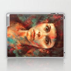 She was always a lonely child. Laptop & iPad Skin