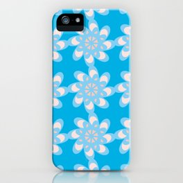 Script Floral Letter O Pattern iPhone Case