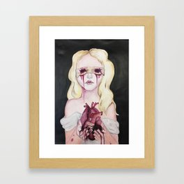 Blinded By Your Love Framed Art Print