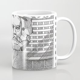Karl Marx 35p stamp (former GDR/DDR)  Coffee Mug