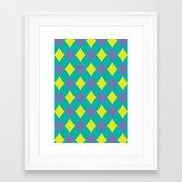 preppy Framed Art Prints featuring Preppy by machmigo