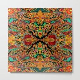4 square-018 Metal Print