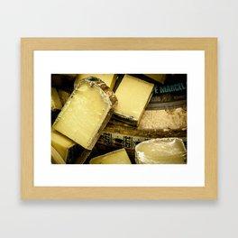 Cheese Framed Art Print
