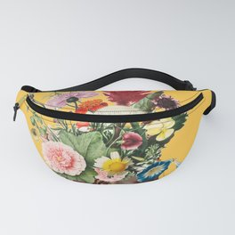Flower Power- Bright Yellow Fanny Pack