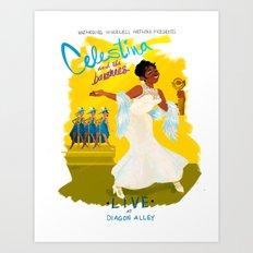 Celestina, LIVE! Art Print