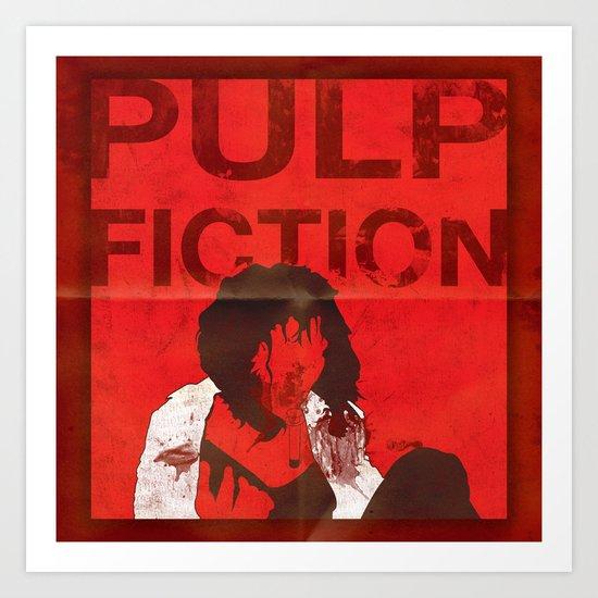 True Fiction Art Print