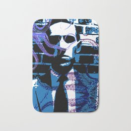 H. P. Lovecraft Poster Bath Mat