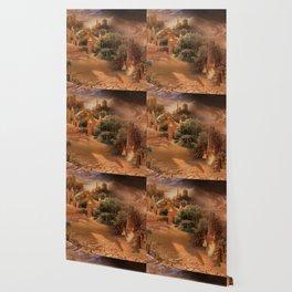 Desert paradise on the edge of Hell - Sandstorm Wallpaper