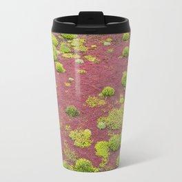 Green and Red Bogmoss Travel Mug