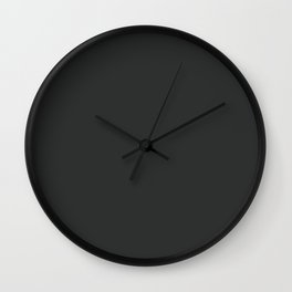 Portrait of a Peony II ~ Slate Wall Clock