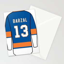 Mathew Barzal Jersey Stationery Cards
