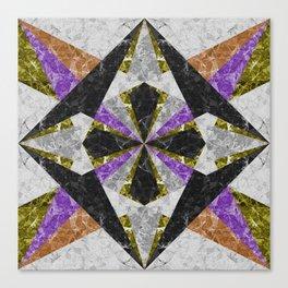Marble Geometric Background G441 Canvas Print