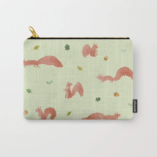 Red Squirrels Carry-All Pouch