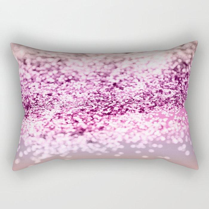 Unicorn Girls Glitter #7 #shiny #decor #art #society6 Rectangular Pillow