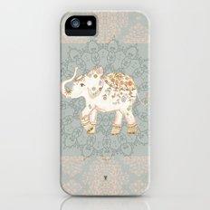 INDIAN SUMMER ELEPHANT by Monika Strigel iPhone SE Slim Case