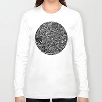 moriarty Long Sleeve T-shirts featuring MEMENTO MORIARTY by Allison Kolarik
