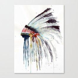 Indian Headress Canvas Print