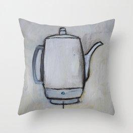 Coffee Pot - Percolator  Throw Pillow