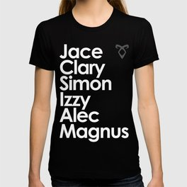 The Mortal Instruments' Main Characters T-shirt