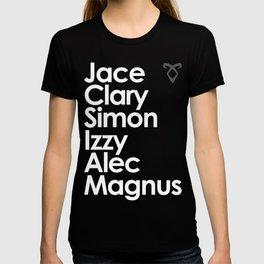 The Mortal Instruments' Main Characters T-shirt