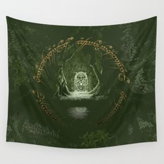 Lord Of the ring Wall Tapestry