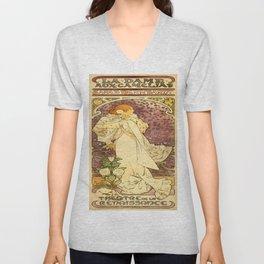Vintage poster - La Dame Aux Camelias Unisex V-Neck